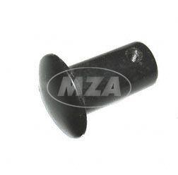 Abschlußpilz f. Lenker - Abschlußstopfen - Kunststoff schwarz