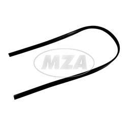 Keder am Scheinwerferhalter - PVC schwarz - 2x 220mm - geschnitten 450mm - SR4-1
