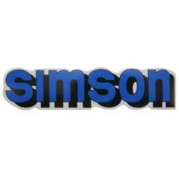 """Klebefolie """"SIMSON""""""""-Tank"""