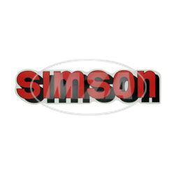 """Klebefolie """"SIMSON""""""""-Tank rot"""