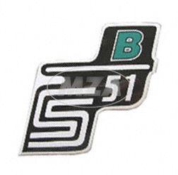 Klebefolie Seitendeckel -B- grün