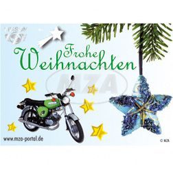Postkarte - MOTIV: S51 - Frohe Weihnachten
