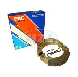 SET EBC-Bremsbacken ø124 mm - mit Bremsbackenfeder + Sicherungsscheiben