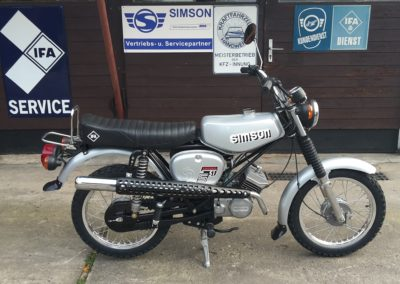Simson-S51-Enduro-Neuaufbau