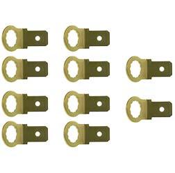 VPE 10x Flachstecker Kontaktzunge