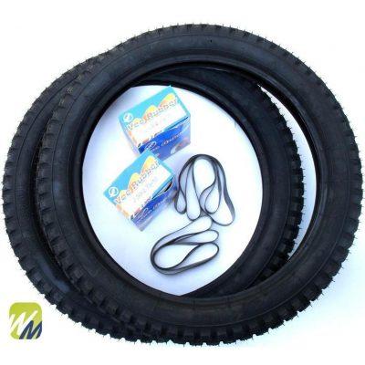 Simson-Reifen-Schlauch-Enduro-K32