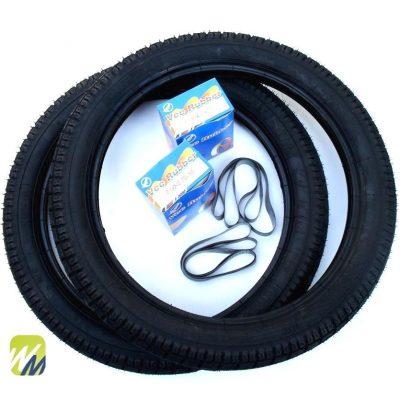 Simson-Reifen-Schlauch-Felgenband-K35